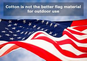 what heavy duty cotton american flag