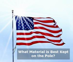 good material for outdoor flags