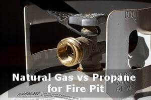 natural gas vs propane for fire pit answer
