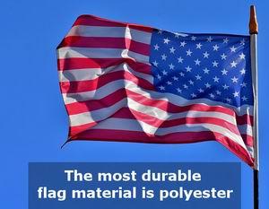 good polyester american flag