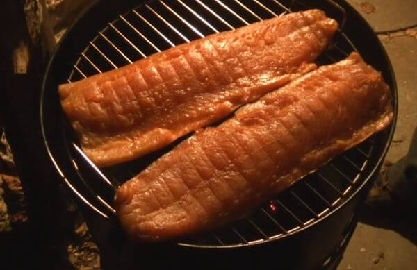 how to smoke fish on a charcoal grill