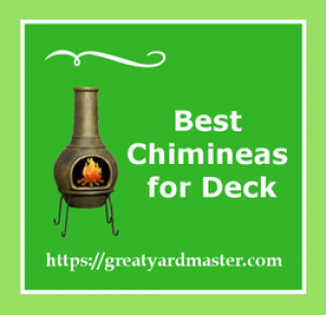 chimineas for deck