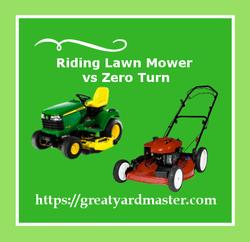 riding lawn mower vs zero turn