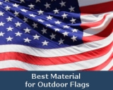 The Best Material for Outdoor Flags