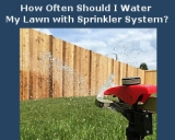 How Often Should I Water My Lawn with Sprinkler System?